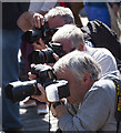 NT2573 : Photographers, Edinburgh Fringe Festival by William Starkey