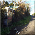 SX9574 : Signs for people on foot, Teignmouth Road, Holcombe by Robin Stott