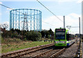 TQ3165 : Tram by the Gasworks by Des Blenkinsopp