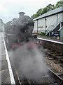 SD3787 : Lakeside and Hatherthwaite Railway, Cumbria by Christine Matthews