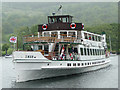 SD3787 : The Swan approaches, Windermere, Cumbria by Christine Matthews
