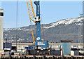 J3575 : Mobile crane, Belfast harbour (January 2015) by Albert Bridge