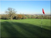 TQ1684 : Golf course, Horsenden Hill by Peter S