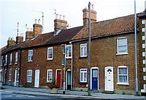 TF0920 : Albion Terrace at Bourne, Lincolnshire by Rex Needle