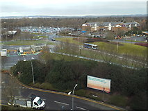 TQ2741 : View from the Premier Inn, Gatwick Airport by Malc McDonald