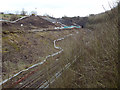 SP3760 : Harbury Cutting February 2015, a little short of a year since the 2014 landslip by Robin Stott