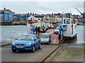 SZ5095 : Chain Ferry, East Cowes, Isle of Wight by Christine Matthews