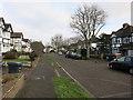 TQ1967 : Manor Crescent, Berrylands by Hugh Venables