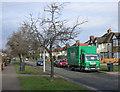 TQ1967 : Bentalls van, Raeburn Avenue by Hugh Venables