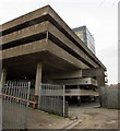 ST3188 : NE corner of Clarence Place multi-storey car park, Newport  by Jaggery