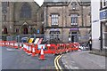 NT2540 : Cuddy Bridge closed, Peebles by Jim Barton
