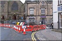 NT2540 : Cuddy Bridge closed, Peebles by Jim Barton