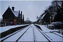 SK2762 : Darley Dale Railway Station by Ian S