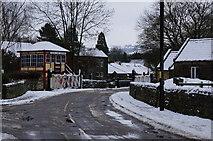 SK2663 : Church Lane Crossing, Darley Dale by Ian S