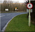 SN9804 : Apparently contradictory signs alongside the A4059 in Aberdare by Jaggery