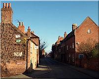 SK7953 : Huddlestone's Wharf/Mill Gate Junction, Newark, Notts. by David Hallam-Jones