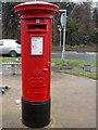 TQ0151 : Burpham: postbox № GU4 214, London Road by Chris Downer