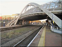 TQ1885 : Wembley Stadium railway station, Greater London by Nigel Thompson