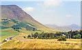 NO1169 : Northward up Glen Beag from Spittal of Glenshee, 1991 by Ben Brooksbank
