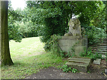 TQ3370 : Sphinx, Crystal Palace Park by Robin Webster