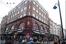 TQ3081 : Covent Garden Underground Station by N Chadwick