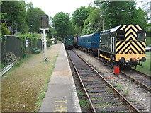 TR2548 : Shepherdswell EKR railway station, Kent by Nigel Thompson