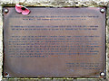 TV5197 : Plaque to commemorate the deaths of Canadian soldiers here in 1940 by Robin Stott