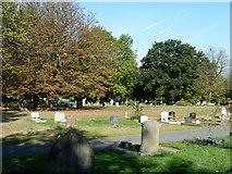 TQ3473 : In Camberwell Cemetery by Robin Webster