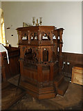 TM4560 : St.Andrew's Church Pulpit by Adrian Cable