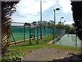 TV4899 : Seaford and Blatchington Lawn Tennis Club, Belgrave Road, Seaford by Robin Stott