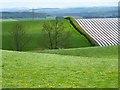 NY5430 : Farmland, Penrith by Andrew Smith