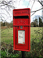 TM2784 : Postbox near 'The Bell' at Wortwell by Adrian S Pye