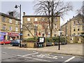 SD7916 : Ramsbottom, Market Place and The Grant Arms by David Dixon
