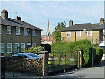 TQ3874 : Houses on Campshill Road, Lewisham by Robin Webster