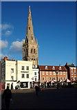 SK7953 : Market Place, Newark, Notts. by David Hallam-Jones