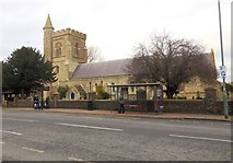 TQ2804 : St Andrew's church, Hove by Paul Gillett