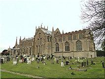 TF5520 : Terrington St. Clement's church by Adrian S Pye