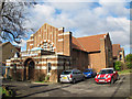 TQ2863 : Wallington United Reformed Church, Stanley Park Road by Stephen Craven