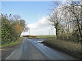 TM2387 : Road junction near Gillows Willows Farm by Adrian S Pye