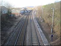 TQ1649 : Dorking West railway station, Surrey by Nigel Thompson