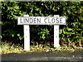 TM4557 : Linden Close sign by Adrian Cable