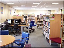 TF0920 : New public library at Bourne, Lincolnshire by Rex Needle