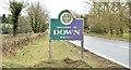 J4161 : Down District boundary sign, Ballygowan/Saintfield (February 2015) by Albert Bridge