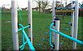 SU1184 : Playground, Grange Park by Mick Garratt