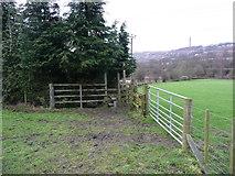 SE0722 : Stile on Sowerby Bridge FP83 by Humphrey Bolton