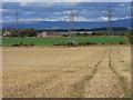 NY5427 : Farmland, Brougham by Andrew Smith