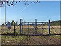 SU8662 : Range gate, Barossa Common by Alan Hunt