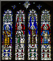 TF0207 : Stained glass window, All Saints' church, Stamford by Julian P Guffogg