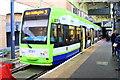 TQ2470 : London Tramlink tram number 2551 in Wimbledon Station by Roger Templeman