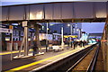 TQ1673 : Early evening in Twickenham Station by Roger Templeman